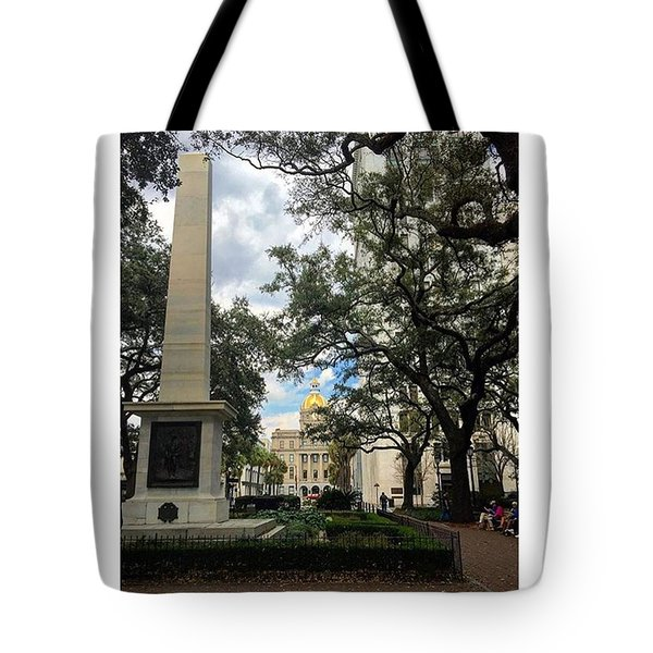 Historic Savannah Tote Bag