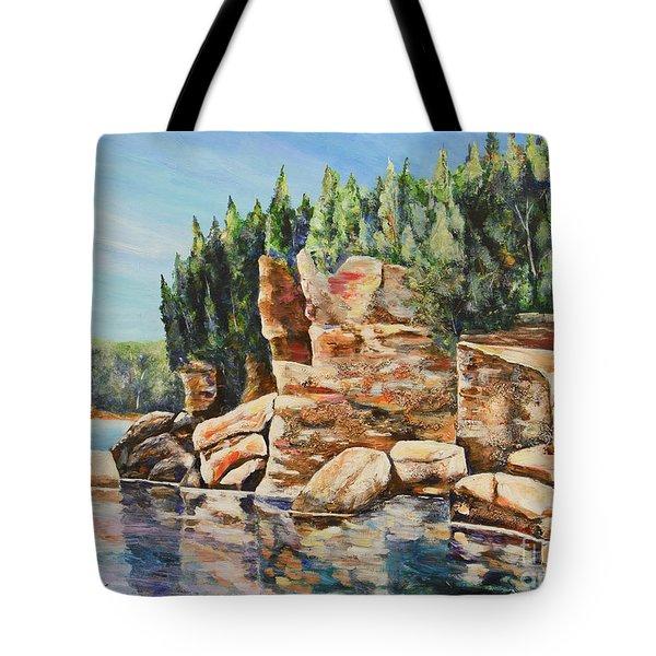 Georgian Beauty Tote Bag by Heather Kertzer