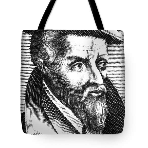 Georgius Agricola, German Scholar Tote Bag by Science Source