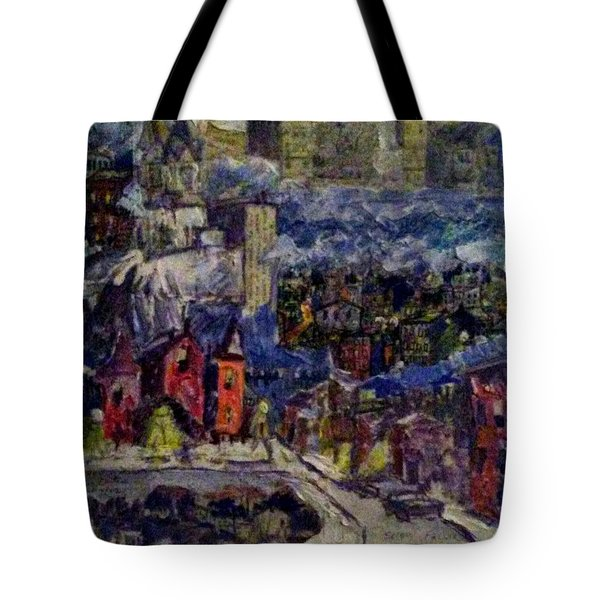 Ghetto World Tote Bag