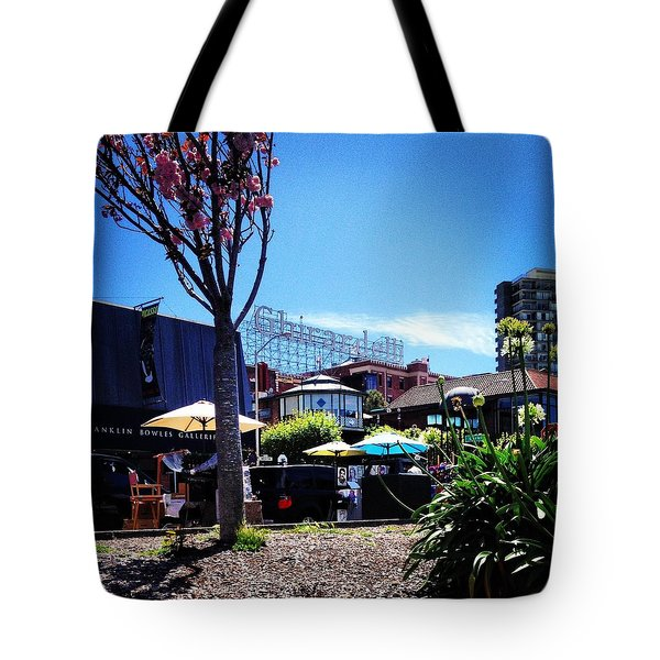 Ghirardelli Square Tote Bag