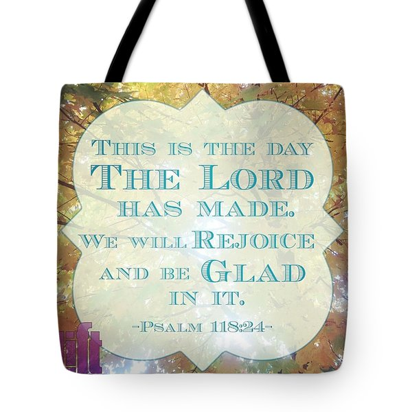 Give Thanks To The Lord, For He Is Tote Bag