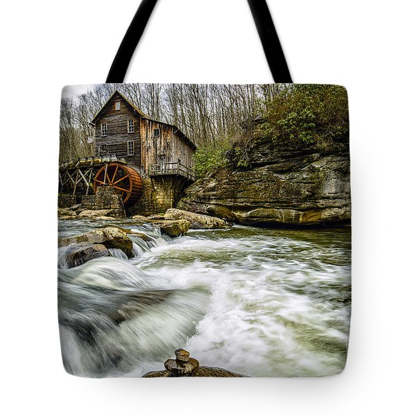 Glade Creek Grist Mill Tote Bag by Thomas R Fletcher