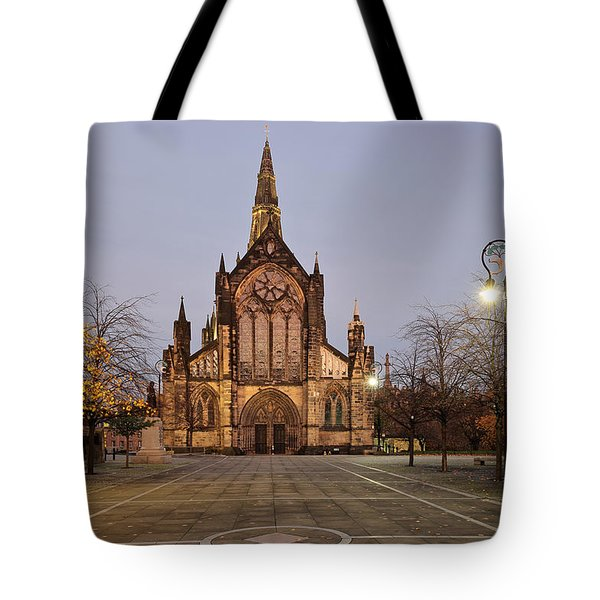 Glasgow Cathedral Tote Bag by Grant Glendinning
