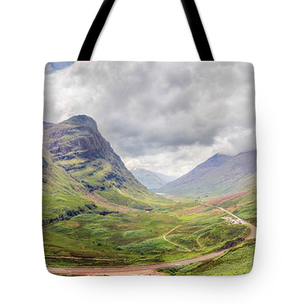Glencoe Panorama Tote Bag