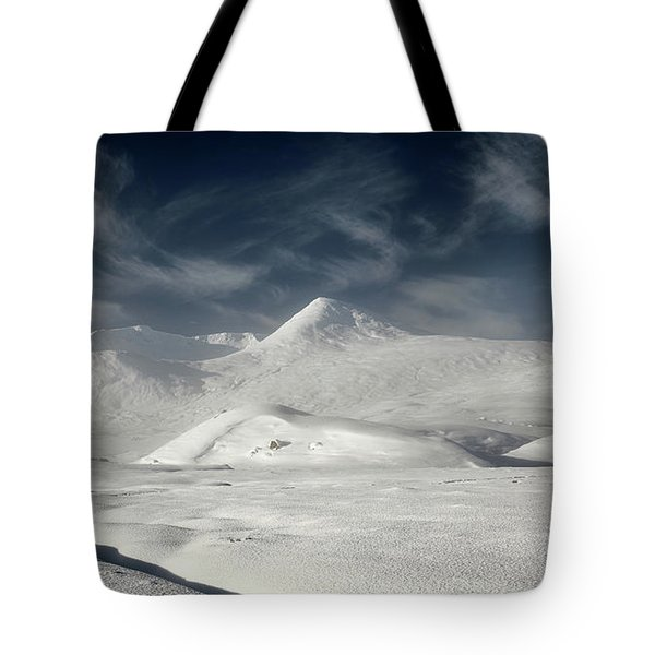 Glencoe Winter Landscape Tote Bag