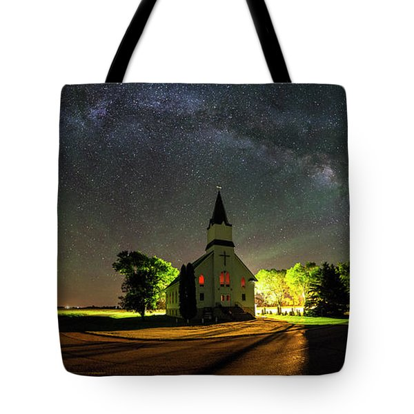 Tote Bag featuring the photograph Glorious Night by Aaron J Groen