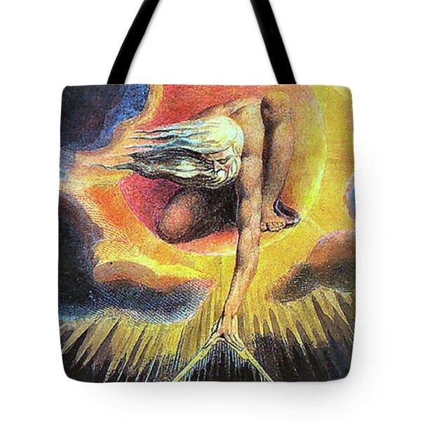 God As Architect Tote Bag