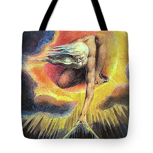 God As Architect Tote Bag