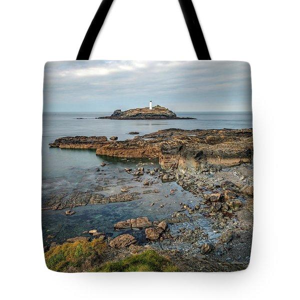 Godrevy Lighthouse - England Tote Bag
