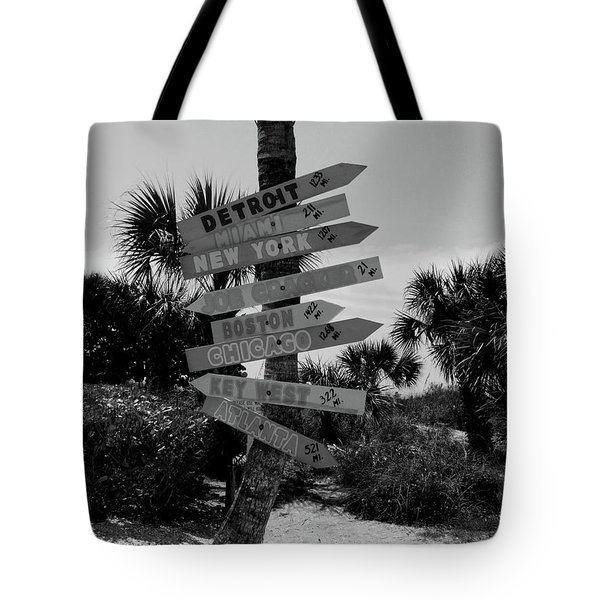 Going My Way Tote Bag