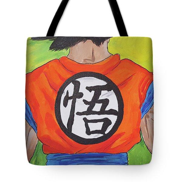 Goku Kanji Tote Bag