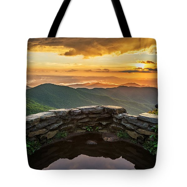 Golden Tote Bag by Anthony Heflin