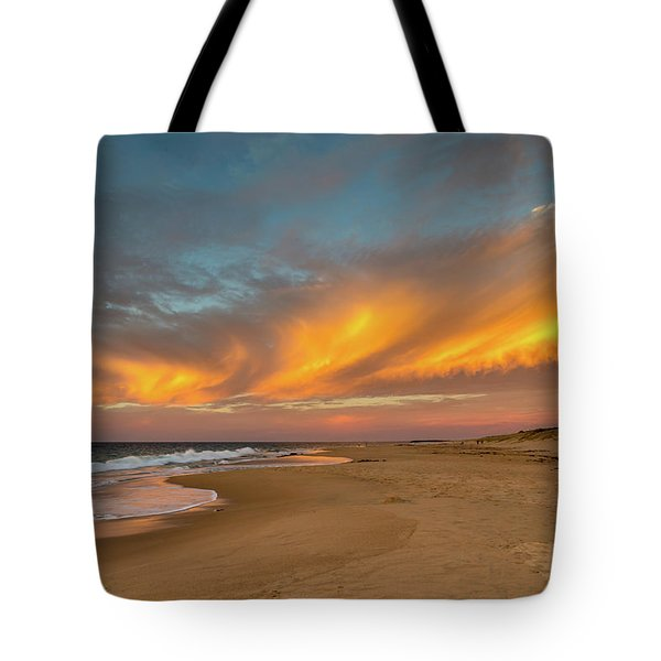 Golden Clouds Tote Bag