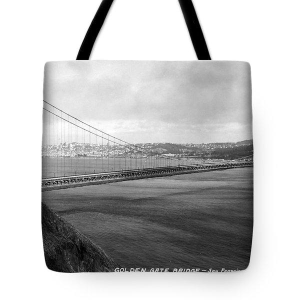 Golden Gate Bridge Tote Bag by Granger