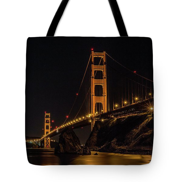 Tote Bag featuring the photograph Golden Gate Bridge by Teresa Wilson