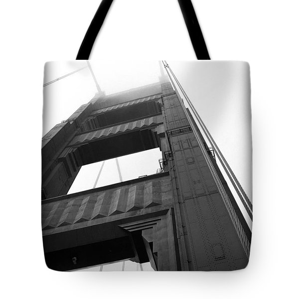 Golden Gate Tower 2 Tote Bag