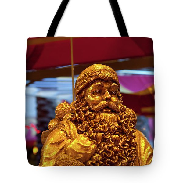 Golden Idol Tote Bag