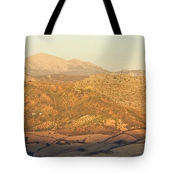 Golden Light In Andalusia Tote Bag