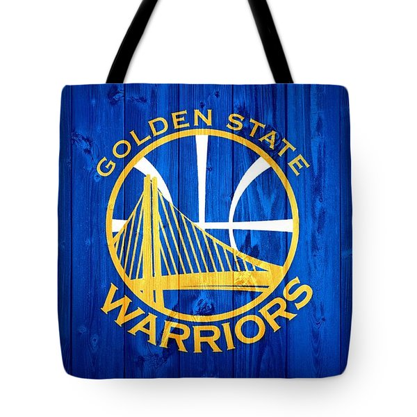 Golden State Warriors Door Tote Bag