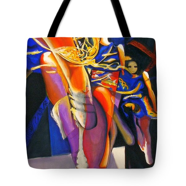 Golden Steps Tote Bag