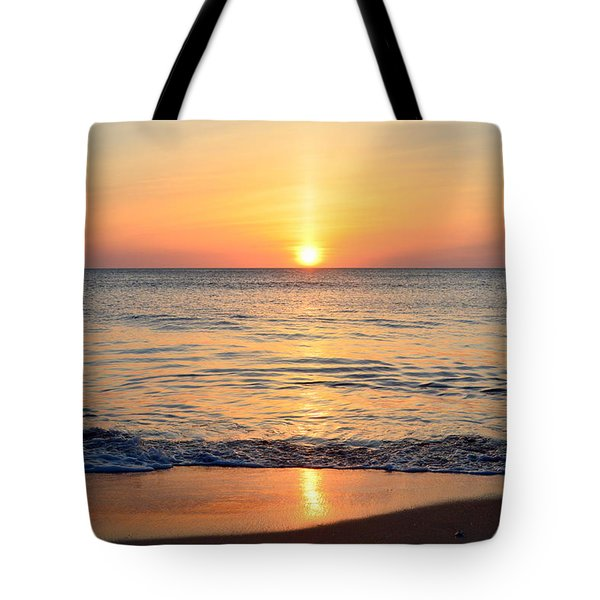 Tote Bag featuring the photograph Golden Sunrise  by Barbara Ann Bell