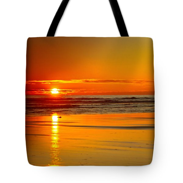 Golden Sunset Tote Bag by Robert Bales