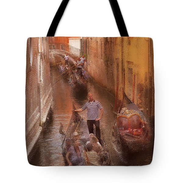 Gondola, Venice Italy Tote Bag by George Robinson