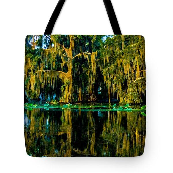 Good Morning Cypress Island Tote Bag