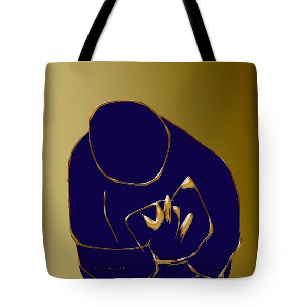 Tote Bag featuring the digital art Good Read by Asok Mukhopadhyay