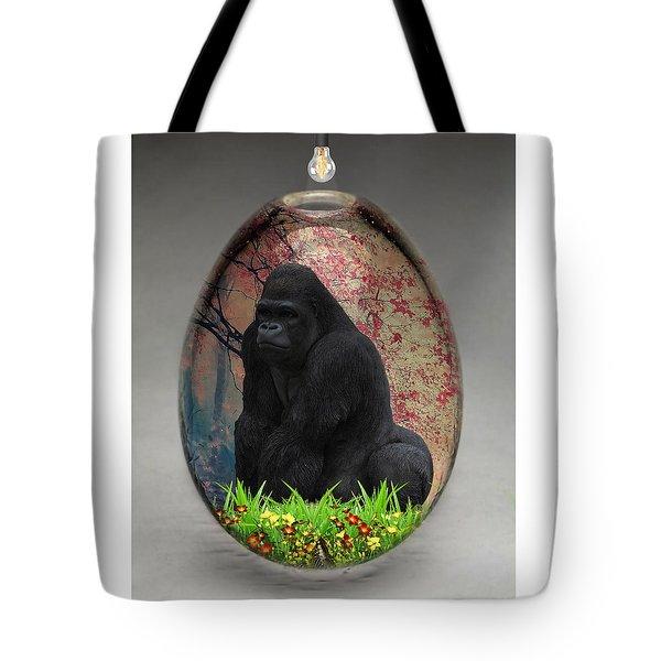 Gorilla Ape Art Tote Bag