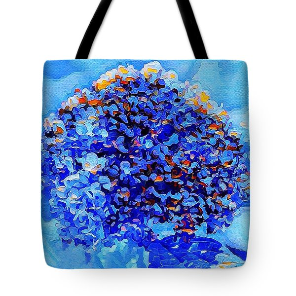 Got The Blues Tote Bag by MaryLee Parker