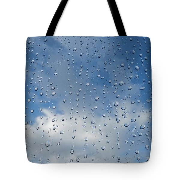 Tote Bag featuring the photograph Gouttes by Marc Philippe Joly
