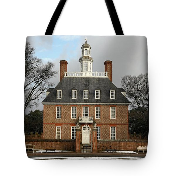 Governors Palace Tote Bag by Sally Weigand