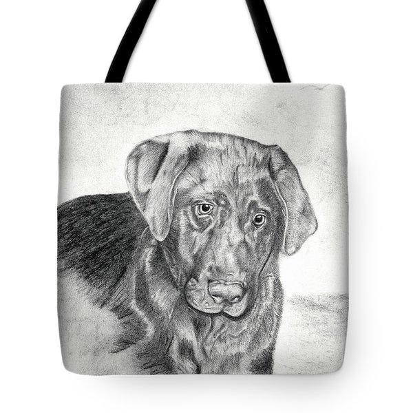 Tote Bag featuring the drawing Gozar by Mayhem Mediums