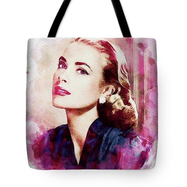 Grace Kelly, Vintage Actress Tote Bag