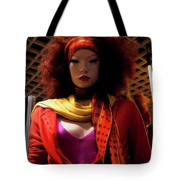 Colored Girl Tote Bag