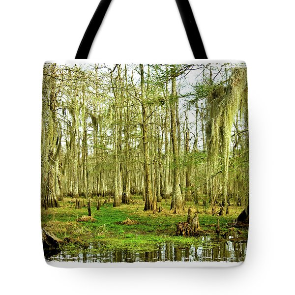 Grand Bayou Swamp  Tote Bag by Scott Pellegrin