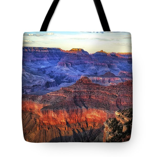 Grand Canyon Sunset Tote Bag by James Bethanis
