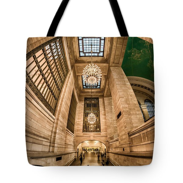 Grand Central Terminal Underpass Tote Bag by Rafael Quirindongo