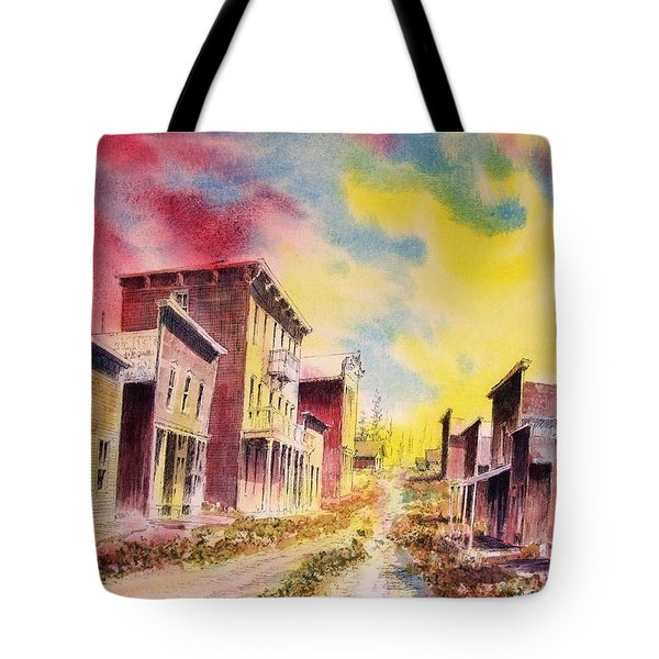 Granite Ghost Town Montana Tote Bag by Kevin Heaney