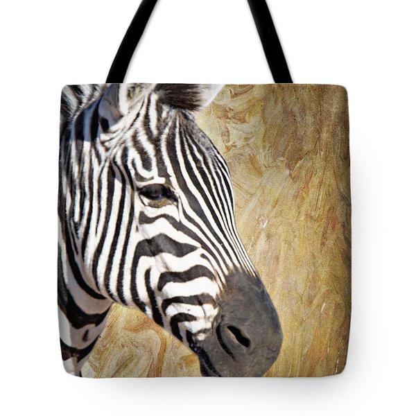 Grant's Zebra_a1 Tote Bag