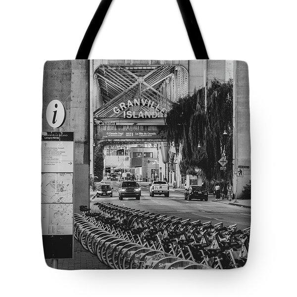 Tote Bag featuring the photograph Granville Island by Ross G Strachan