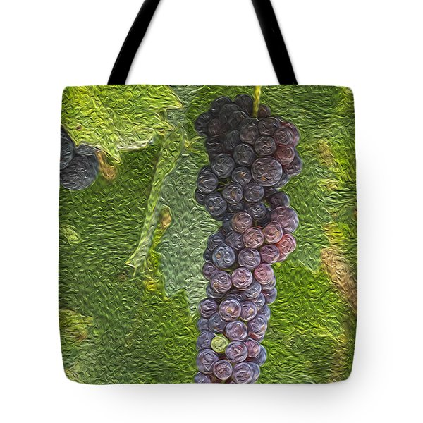 Grape Fruit Tote Bag