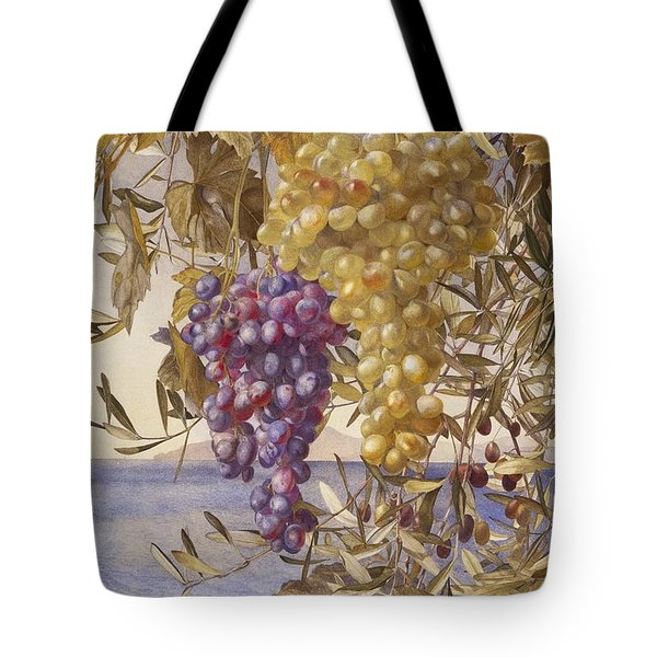 Grapes And Olives Tote Bag
