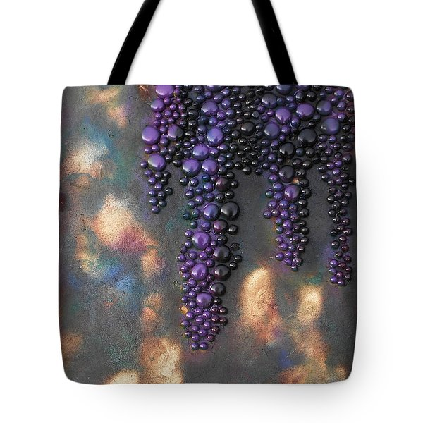 Grapes Tote Bag by Angela Stout