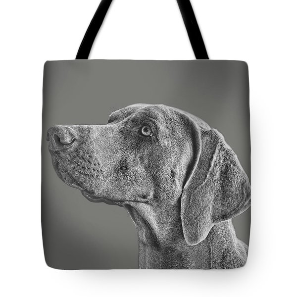 Gray Ghost Tote Bag
