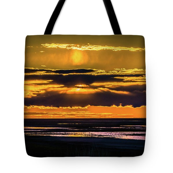 Great Salt Lake Sunset Tote Bag