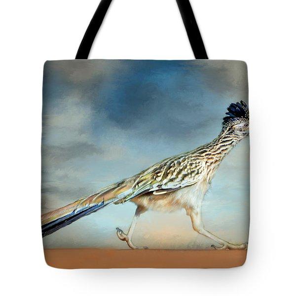 Greater Roadrunner Tote Bag