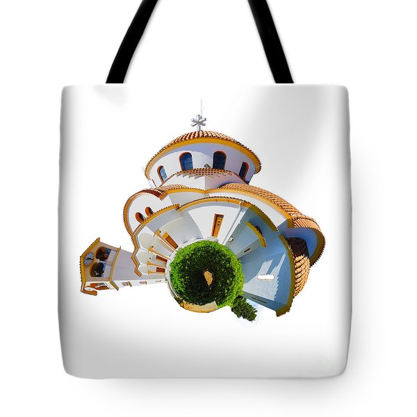 Greek Orthodox Church Tote Bag